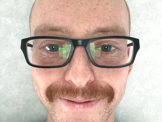 Dr Tom Wood wins our Movember selfie competition