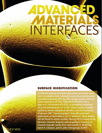 advanced materials interfaces polymer re