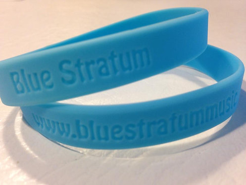 Blue Stratum Band Bracelet