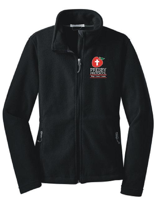 Embroidered Ladies Fleece Jacket