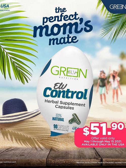 Green Elv Nutrition Elv Control Raiz de Tejocote CAPSULE