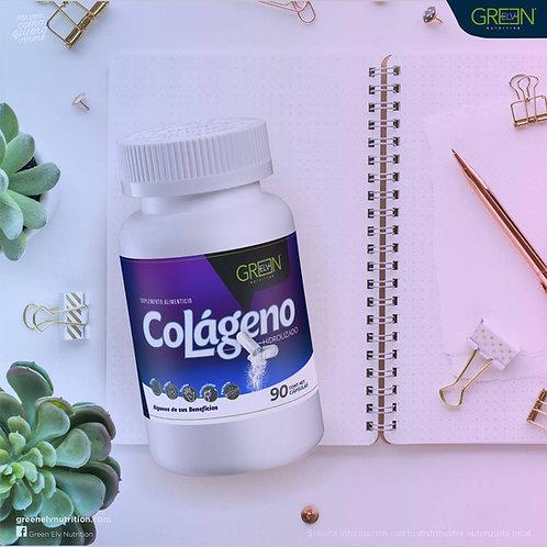 Colageno Hidrolizado/ Hydrolyzed Collegen by Green Elv Nutrition