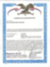 FDA Regitration Certificate for Alipotec