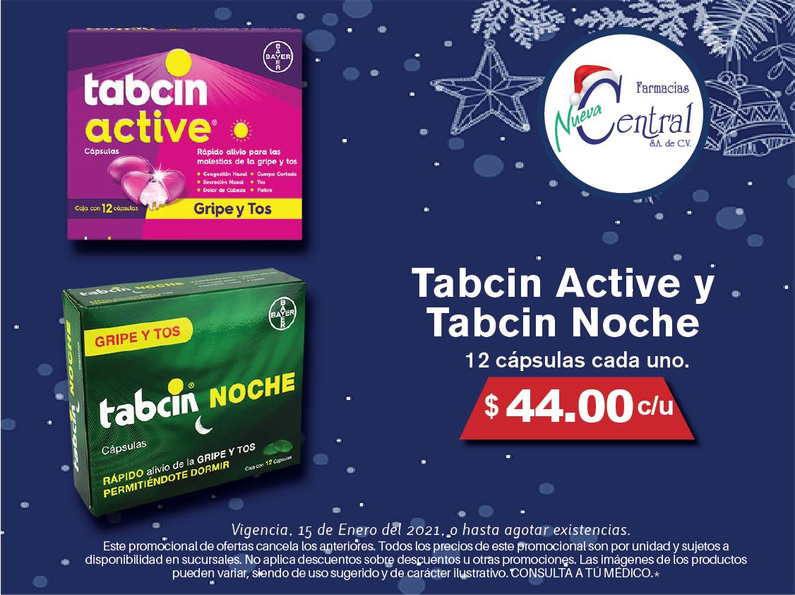 TABCIN ACTIVE Y NOCHE