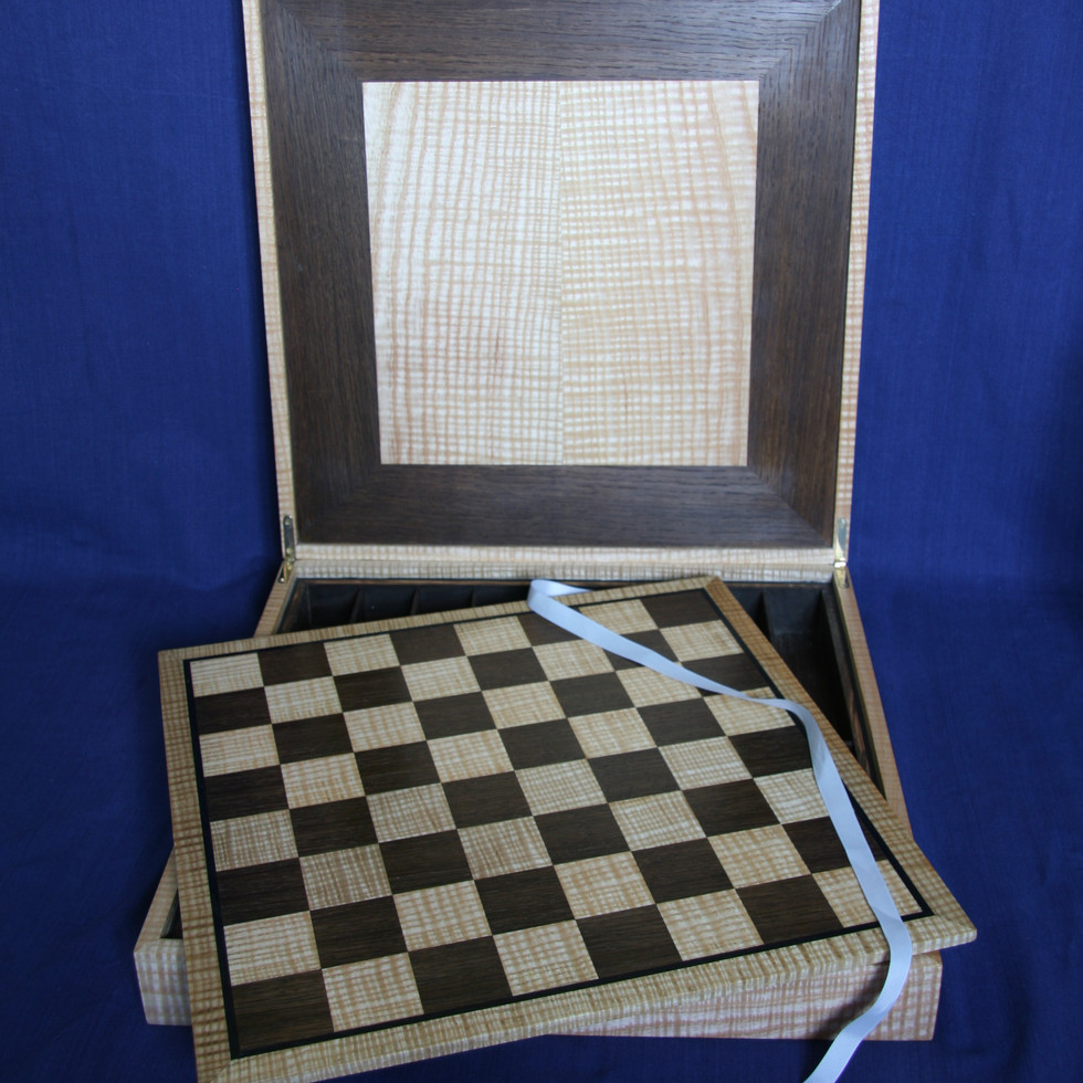 Chess board and box