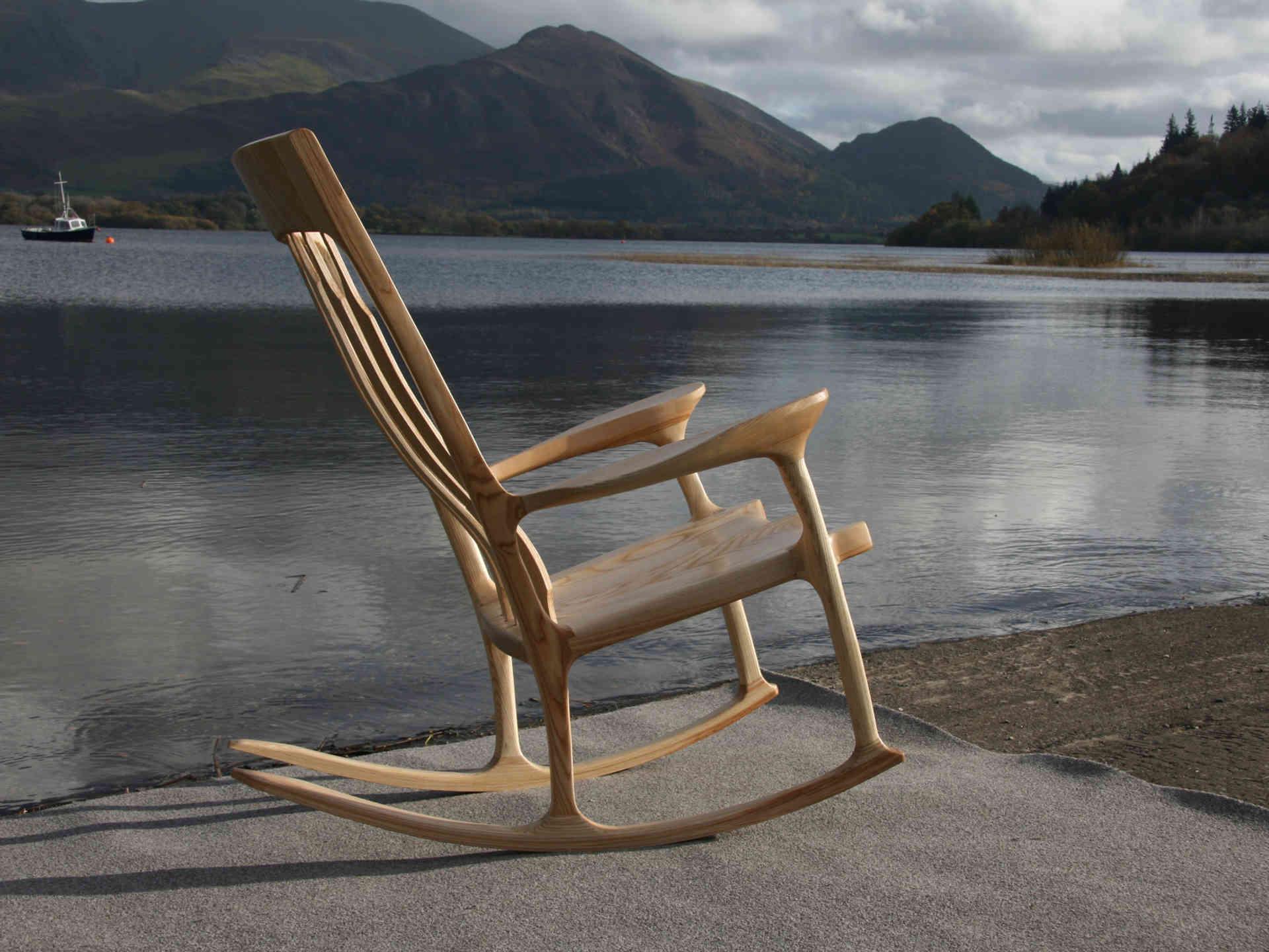 Ash Rocking Chair
