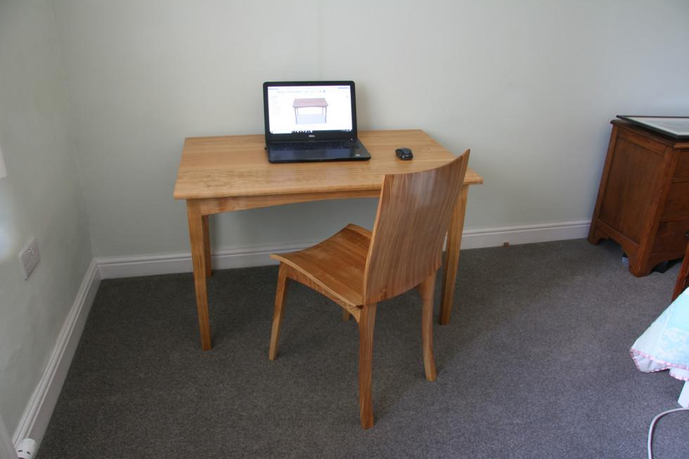 Small Simple Cherry Desk