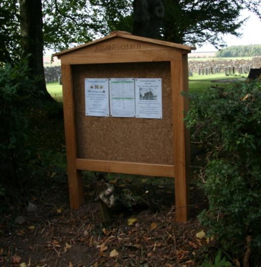 Oak Church Noticeboard