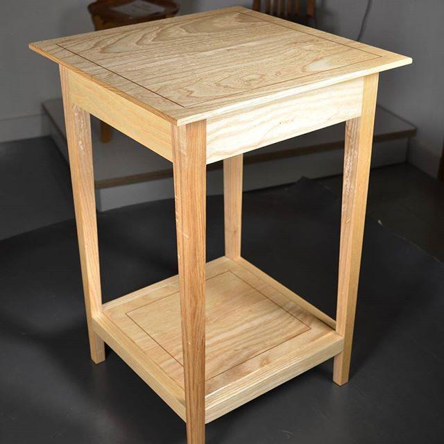 Ash Bedside Table