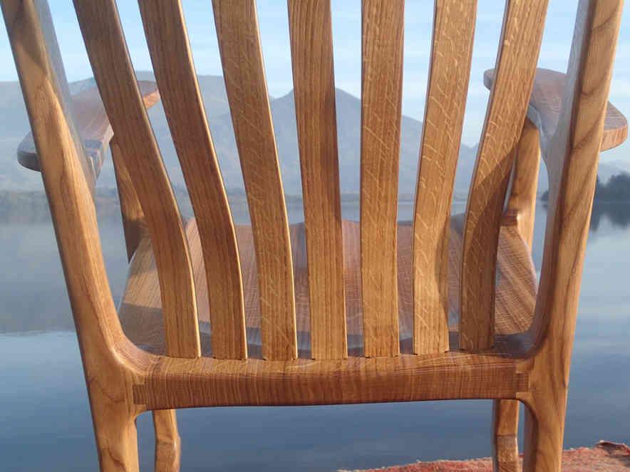 Rocking Chair Back Detail