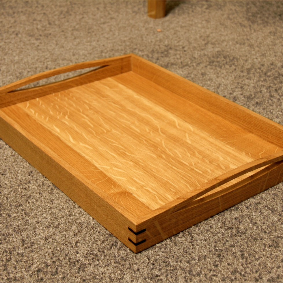 Oak tray.