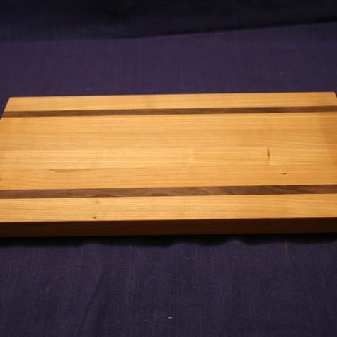 Cherry and walnut chopping board