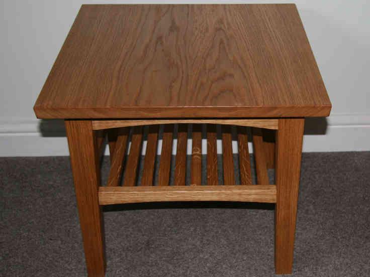 Small Oak Coffee Table