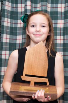 Happy winner of Optimist trophy this year