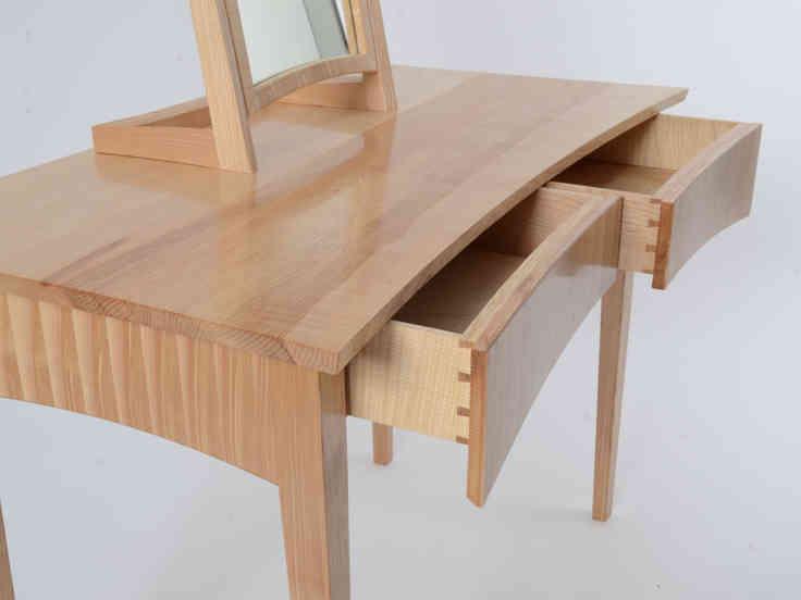Rippled Ash Dressing Table