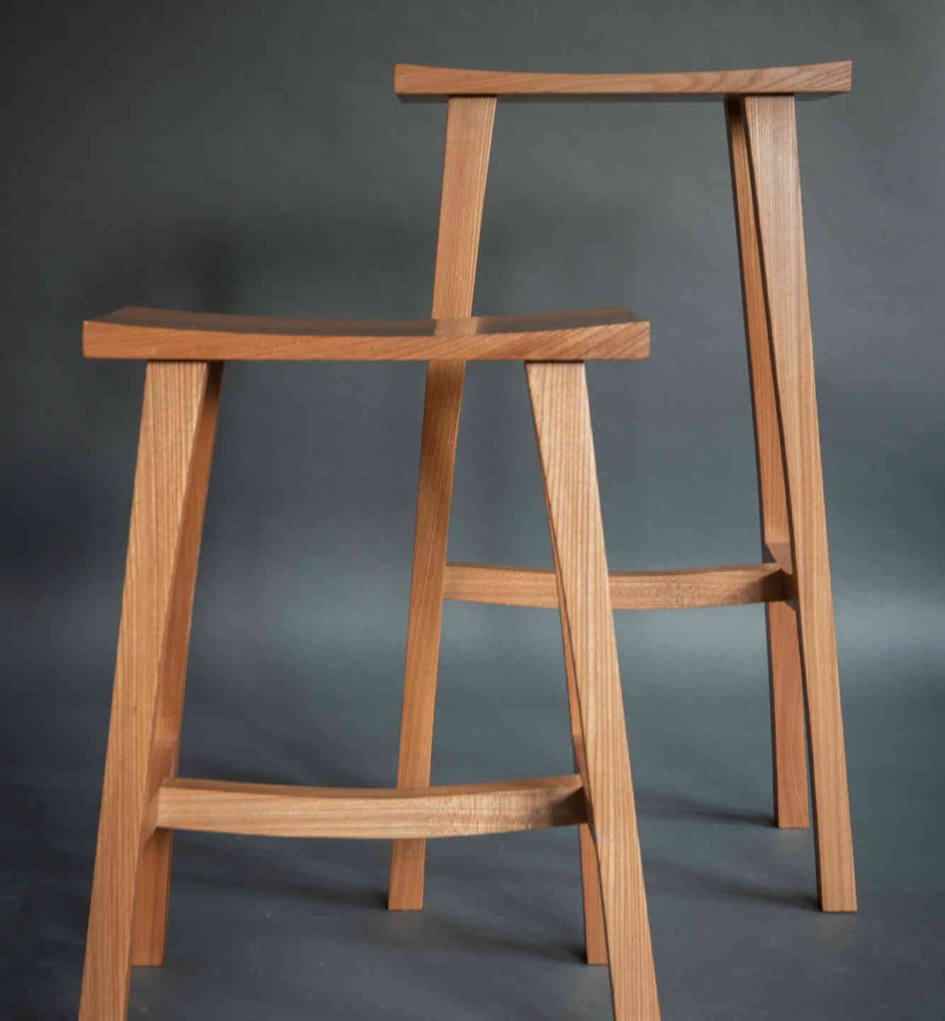 English elm stools