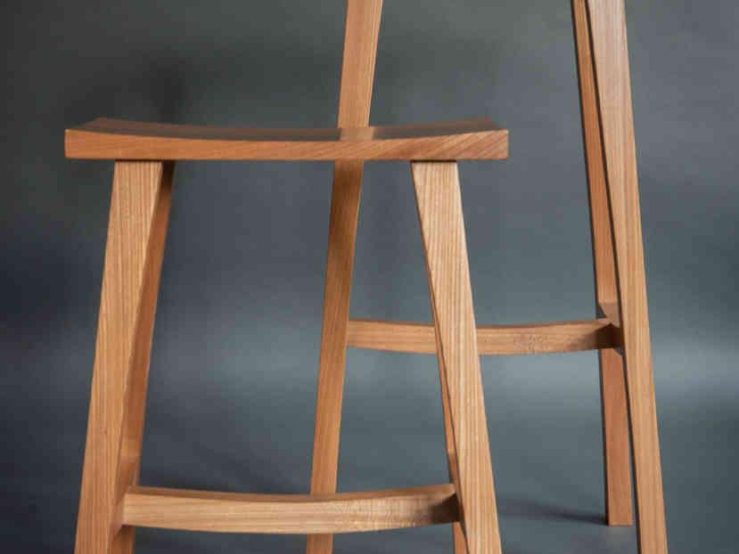 English elm stools