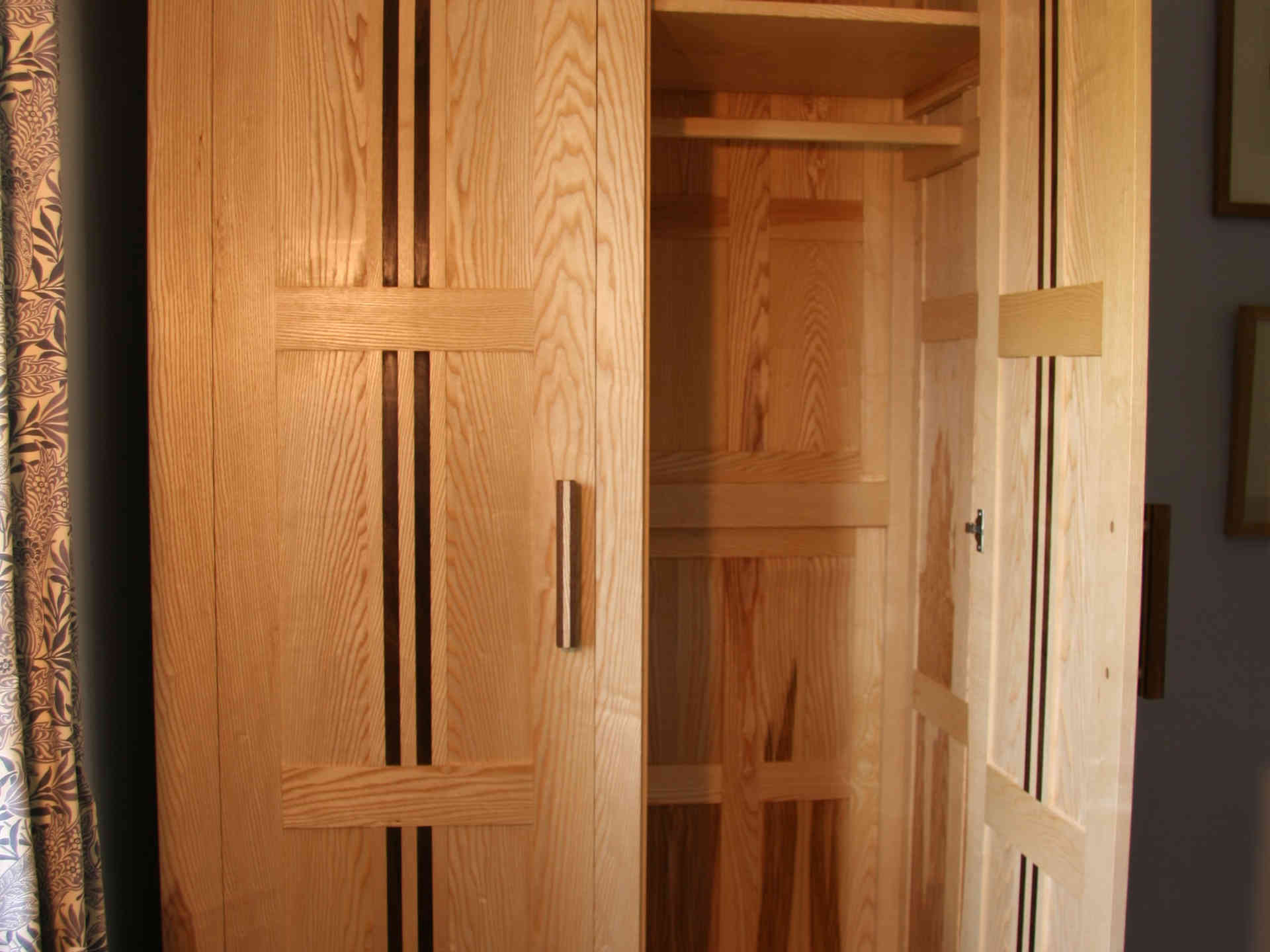 Ash and Walnut wardrobe