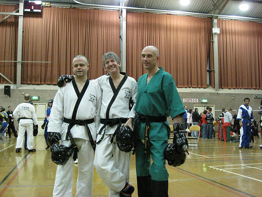 NMA Fitness Norfolk. Larry Day at at TAGB Tae Kwon Do competition