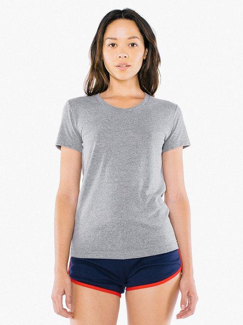 Womens AA Tri-blend Track T-Shirt