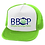 Thumbnail: Trucker Hat Custom Heat Pressed Neon