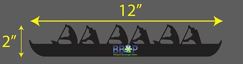 BBOP Canoe Sticker