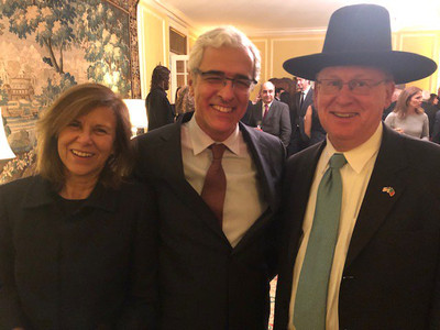 Wine celebration hosted by Ambassador Fezas Vital of Portugal