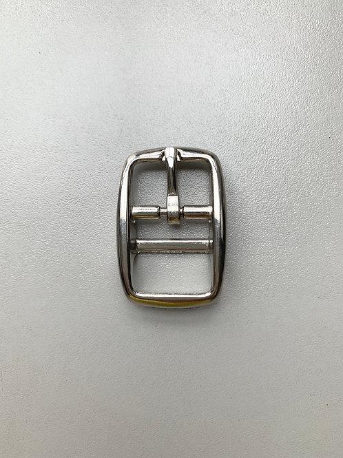 dubbele gesp - 20mm nikkel