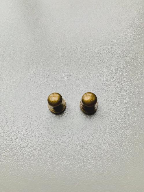 geweerknopje - bronskleurig