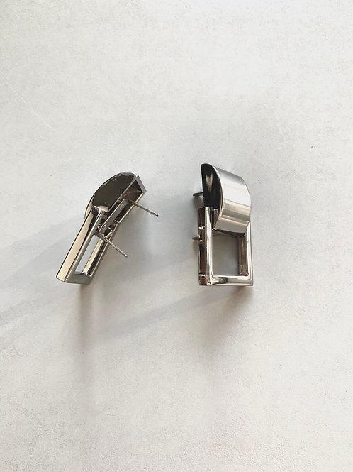 draagriemhouder - nikkel - 20mm