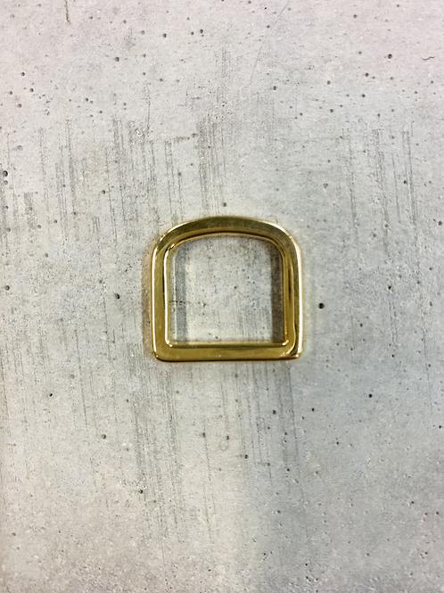 riemdrager - 17mm - licht goudkleurig