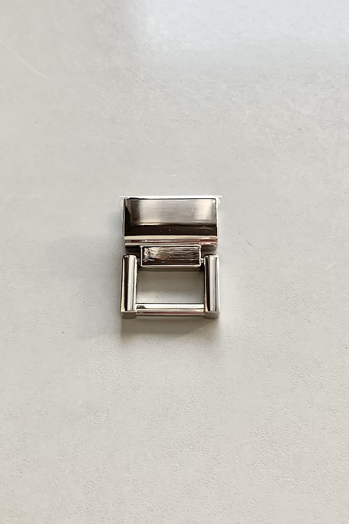 draagriemhouder - nikkel - 18mm