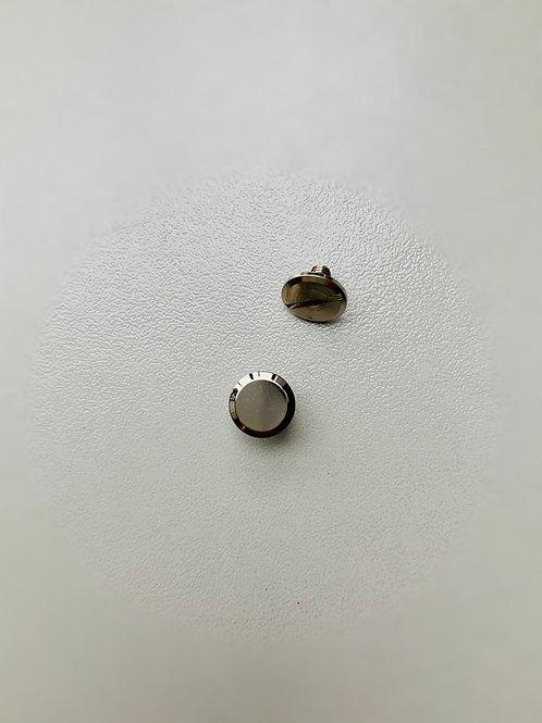 chicagoschroef - nikkel - kop9mm/hoog 5mm