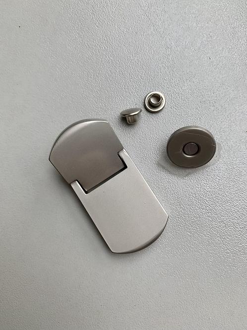 magneetsluiting nikkel mat