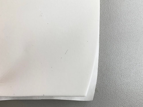 Schuimversteviging polyethyleen zelfklevend wit - 1,5mm