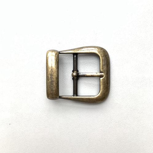 Gesp oud goud 25mm