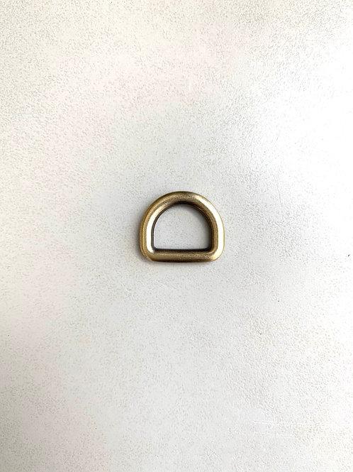 D-ring - nikkel/brons/lichtgoud