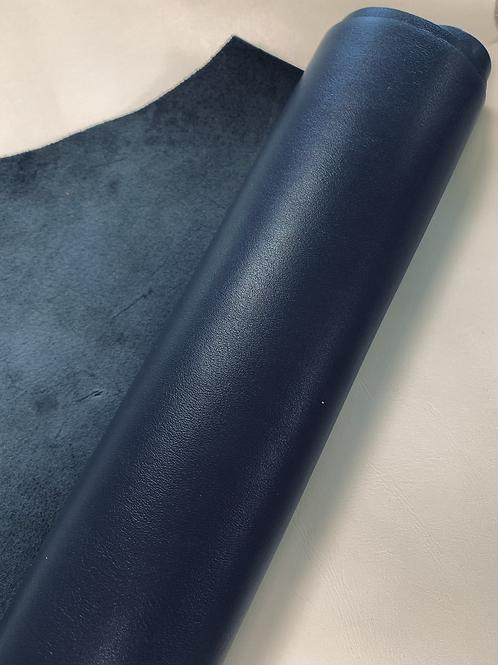 rundsleder -midden blauw - 3vt