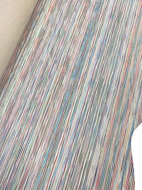Rundsleder - gestreept diverse kleuren