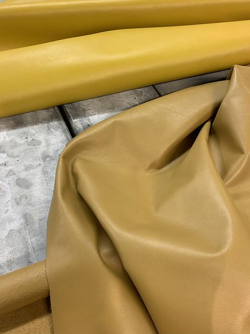 mals kalfsleder - mosterdkleur - 8,35vt