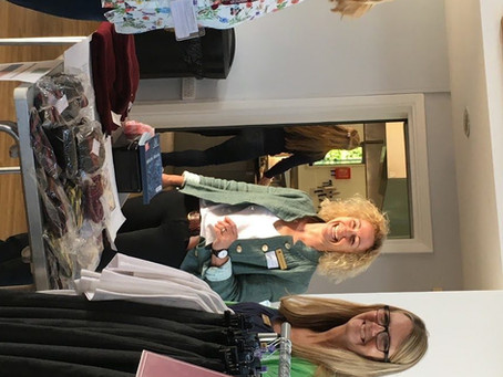 Helpers Wanted! Second Hand Uniform Shop Appeal