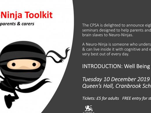 The Neuro-Ninja Tool Kit – Seminar Launch