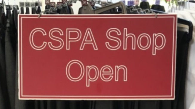 CSPA Second Hand Shop Appointments