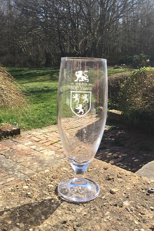 Limited edition Quincentenary Ale Glass