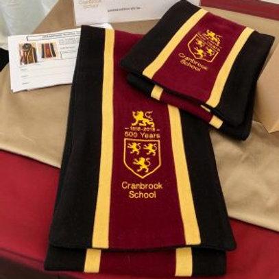 School branded scarf