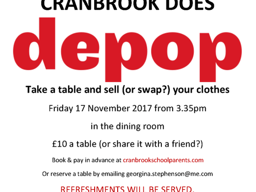 Cranbrook Does DEPOP