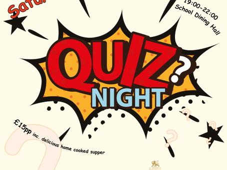 CSPA Quiz Night – Tickets on Sale