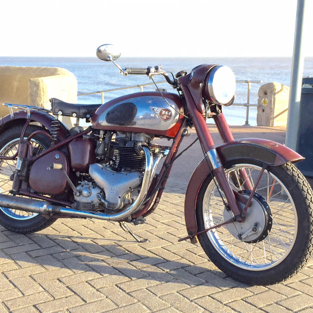 A Members' '57 BSA Golden Flash