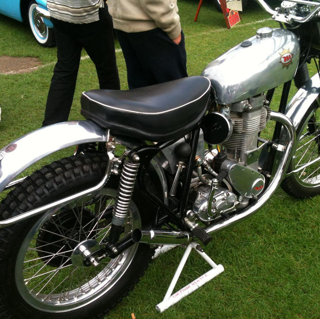 BSA 350 Goldstar Trials