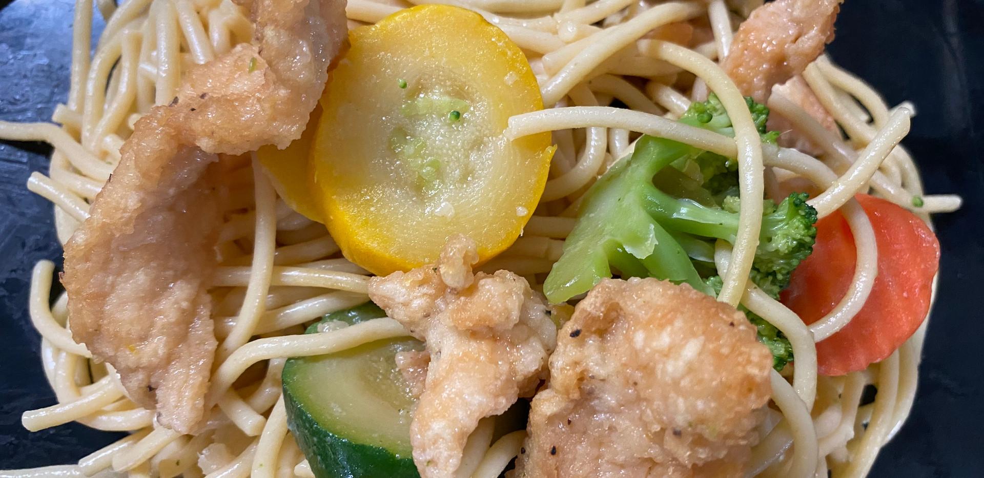 Chicken and Pasta Primavera